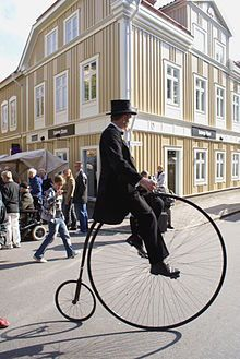 penny-farthing ...