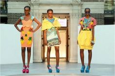 Festival Specs featured in Fashion Student Ciara Monahan's collection