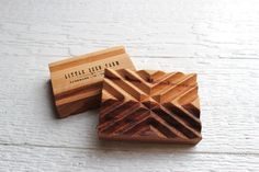 Each Little Seed Signature Wooden Soap Dish is handcrafted using sustainably and locally sourced hickory wood. Keep your bar soap in optimal condition! Wood Soap Dish, Ceramic Soap Dish, Soap Dishes, Diy Soap Holder, Savon Soap, Diy Holz, Home Made Soap, Handmade Wooden, Handmade Soaps