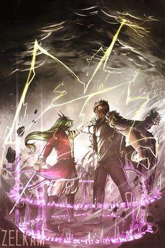 Freed and Laxus unison raid - aka, CERTAIN DEATH. | Fairy Tail, Fraxus, Laxus x Freed