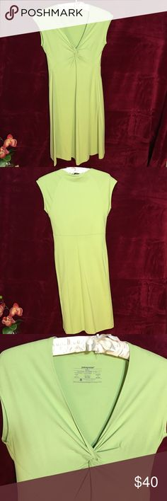 NWOT Patagonia Lime dress NWOT Patagonia lime women's dress. Patagonia Dresses Midi