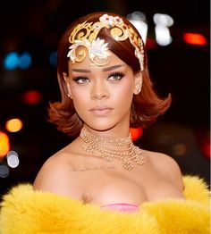 Rihanna the Met ball