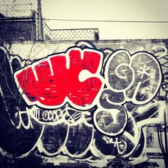 Red Graffiti -iPhoneography