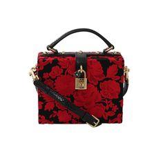 29c8d76d525e EMBRD FLORAL BOX BAG Red Purses
