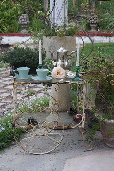 Garden Tea Cart