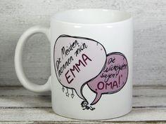 Becher & Tassen - Geschenk für Oma Tasse - ein Designerstück von Tassen-Geschenke-by-MySweetheart bei DaWanda