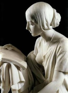 Pietro MAGNI | The Reading Girl, 1856