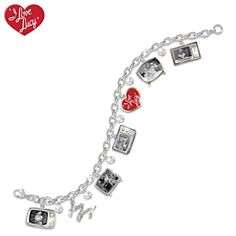 I want the I Love Lucy bracelet. A girl can dream can't she???