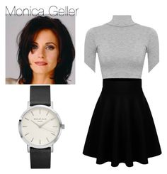 """Monica Geller inspired outfit"" by sharpcheddar1 on Polyvore featuring WearAll"