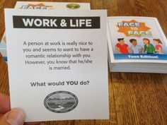 Scenario of the Day 09 15 14 Teen Edition - Face to Face What would YOU do?