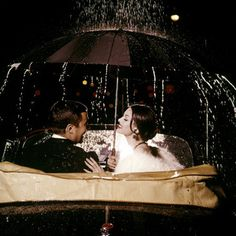 date under the rain