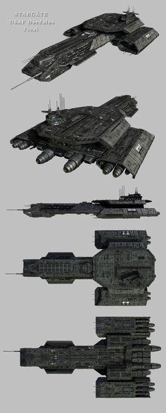 Stargate Daedalus Final by Mallacore on @DeviantArt