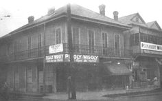 South Carrollton & Willow Street ca. 1929, City Planning Commission Photographs, City Archives, New Orleans Public Library