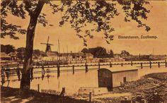 Zoltkamp - Binnenhaven Gestempeld 1924 Uitg. B Oosterhoff.