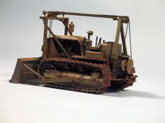 D-9 Bulldozer 1/35 Scale Model