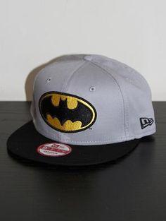 NEW ERA 9FIFTY Superhero Team Hero Batman Snapback Cap