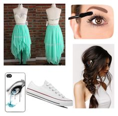 Untitled #54 by mad-hatter-gone-insane on Polyvore featuring Converse and With Love From CA #HomecomingDress #fashion #Dress