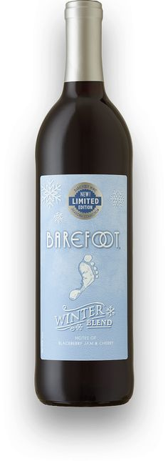 Introducing Barefoot Wine's new limited edition Winter Blend red wine. Just in time for your Christmas festivities.