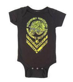 Metal Mulisha Wild Child Baby Toddler Onesie With Tutu
