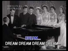 the Everly Brothers - 'All I Have To Do Is Dream' on The Andy Williams Show, with the Lennon Sisters standing by