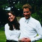 Before she was a princess: Kate Middleton and Prince William on the day of their graduation ceremony at St. Andrew's University ~ June 23, 2005 in Scotland.
