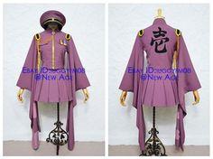 Vocaloid Hatsune Miku Senbonzakura Military Uniform Cosplay Costume Outfit