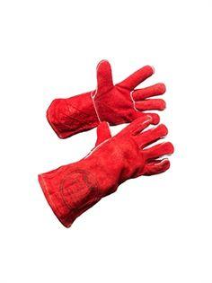 ENZ-205 Leder Schweißer-Handschuh