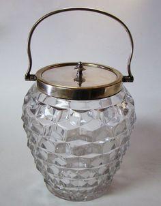 Fostoria American Biscuit Barrel Jar