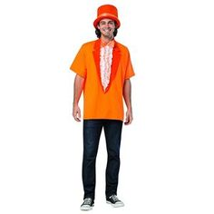 OFF or FREE SHIP -Dumb & Dumber Lloyd T-Shirt Adult Costume : A great t-shirt just like the one worn in the movie sequel to their original laugh riot Dumb and Dumber! This is the one Lloyd wore. One size fits all. Unique Couple Halloween Costumes, Halloween Men, Trendy Halloween, Halloween Costumes For Kids, Adult Costumes, Costumes For Women, Woman Costumes, Couple Costumes, Halloween 2020