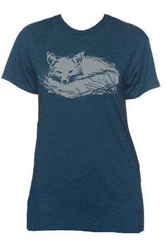 Unisex Vintage Fox T Shirt by SuperBitKicks on Etsy, $19.99
