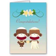 =>>Save on          	Sock Monkey Hawaiian Wedding Card           	Sock Monkey Hawaiian Wedding Card lowest price for you. In addition you can compare price with another store and read helpful reviews. BuyReview          	Sock Monkey Hawaiian Wedding Card please follow the link to see fully rev...Cleck Hot Deals >>> http://www.zazzle.com/sock_monkey_hawaiian_wedding_card-137418965128352403?rf=238627982471231924&zbar=1&tc=terrest