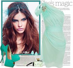 """Lovely Mint"" by fashionistlady ❤ liked on Polyvore"