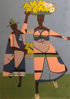 African American Artist, American Artists, African Art, Modern Art, Contemporary Art, Beauty In Art, Figurative Art, Black Art, Artist At Work