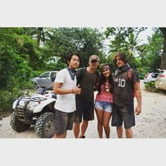 #NormanReedus #AndrewLinconl #StevenYeun #Fan #NataliaGonzalez #Vacation in #Costa Rica. I love you guys❤
