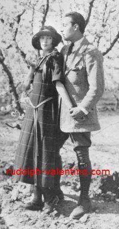 Natacha Rambova & Rudolph
