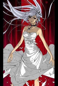 From: Rosario + Vampire Commission for Moka Akashiya Anime Ai, Anime Wolf, Female Anime, Anime Couples Manga, Cute Anime Couples, Anime Girls, Vampire Anime Shows, Rosario Vampire Moka, Naruto Vs Sasuke