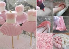 Ballerina Marshmallows