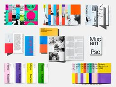 Dark Side of Typography: Photo Editorial Design Layouts, Layout Design, Print Design, Design Design, Buch Design, Booklet Design, Communication Design, Design Graphique, Design Museum