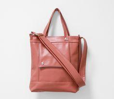 Jenny N. Design Packet in Sea Coral Pink Leather Handbag | Handbago