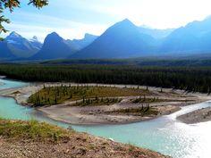Jasper Banff Park Ice-Highway, Athabasca River Outdoor Adventures, Banff, Jasper, Ice, Mountains, Park, Nature, Travel, Voyage