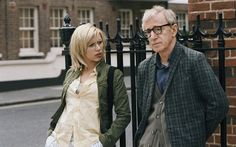 "Scarlett Johansson and Woody Allen in ""Scoop"""