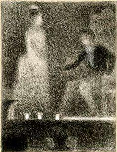 Georges Seurat Drawings | ... Me - Looking At Remember Me: THE SEURAT PORTRAIT IN REMEMBER ME