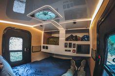 Small Camper Trailers, Off Road Camper Trailer, Trailer Diy, Tiny Camper, Small Campers, Cool Campers, Camping Trailers, Truck Camper, Truck Canopy
