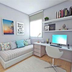 quarto hospede/escritorio
