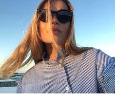 "Hanna Kovanen sanoo Instagramissa: ""Gone with the wind! #celine #toteme"""