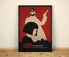 Hey, I found this really awesome Etsy listing at https://www.etsy.com/uk/listing/494528642/leon-luc-besson-minimalist-movie-poster