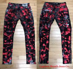 NEW Laguna Beach Jean Co.  Foil Print Jeans for Fall 👖 For Ordering: 855-999-5252/info@lbjcdenim.com ⚜️ #lbjcdenim