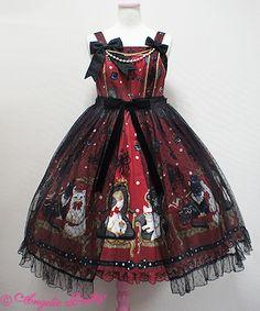 Angelic Pretty Princess Catペプラムジャンパースカート