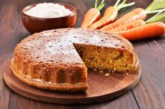 (c) can stock photo Carrots are considered to be among the healthiest of vegetables. Using carrots in desserts, cakes and puddings is a. Food Cakes, Carrot Recipes, Cake Recipes, Cooking Time, Cooking Recipes, Best Carrot Cake, Pizza Ingredients, Pie Cake, Specialty Cakes