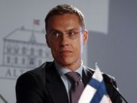 """FINLAND  BULLIED BY RUSSIA?.. Alexander Stubb is set to become Finland's next prime minister, and he said he wants the country to join NATO. This could cause problems since Russia has """"warned"""" Finland, along with Sweden, over a relationship with NATO and even told NATO that Moscow will respond if the organization builds near Russia's borders."""